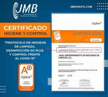 Applus Certificado de Calidad Higiene y Control