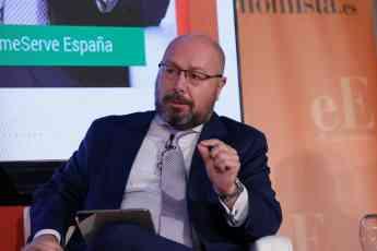 Fernando Prieto, Consejero Delegado HomeServe España durante el V Foro de Energía