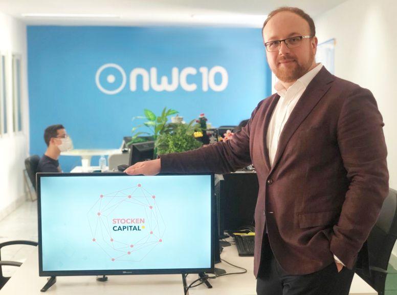Foto de Rafael del Castillo - CEO Stocken Capital en NWC10