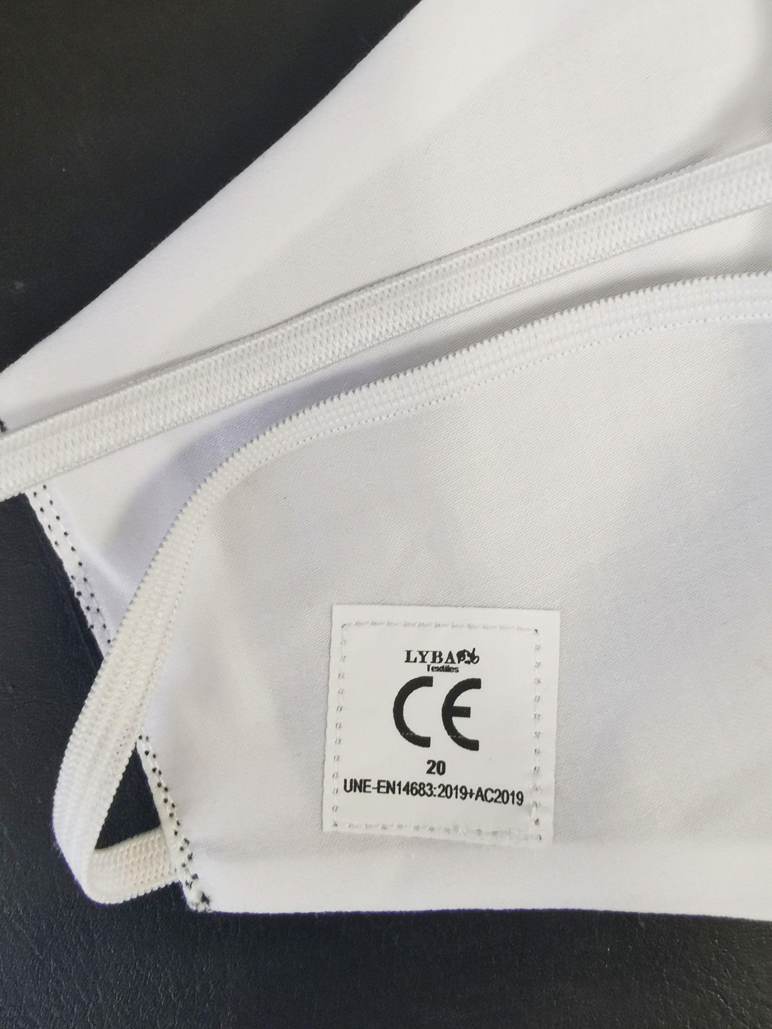 Fotografia Mascarillas sanitarias reutilizables de Lyba Textiles con