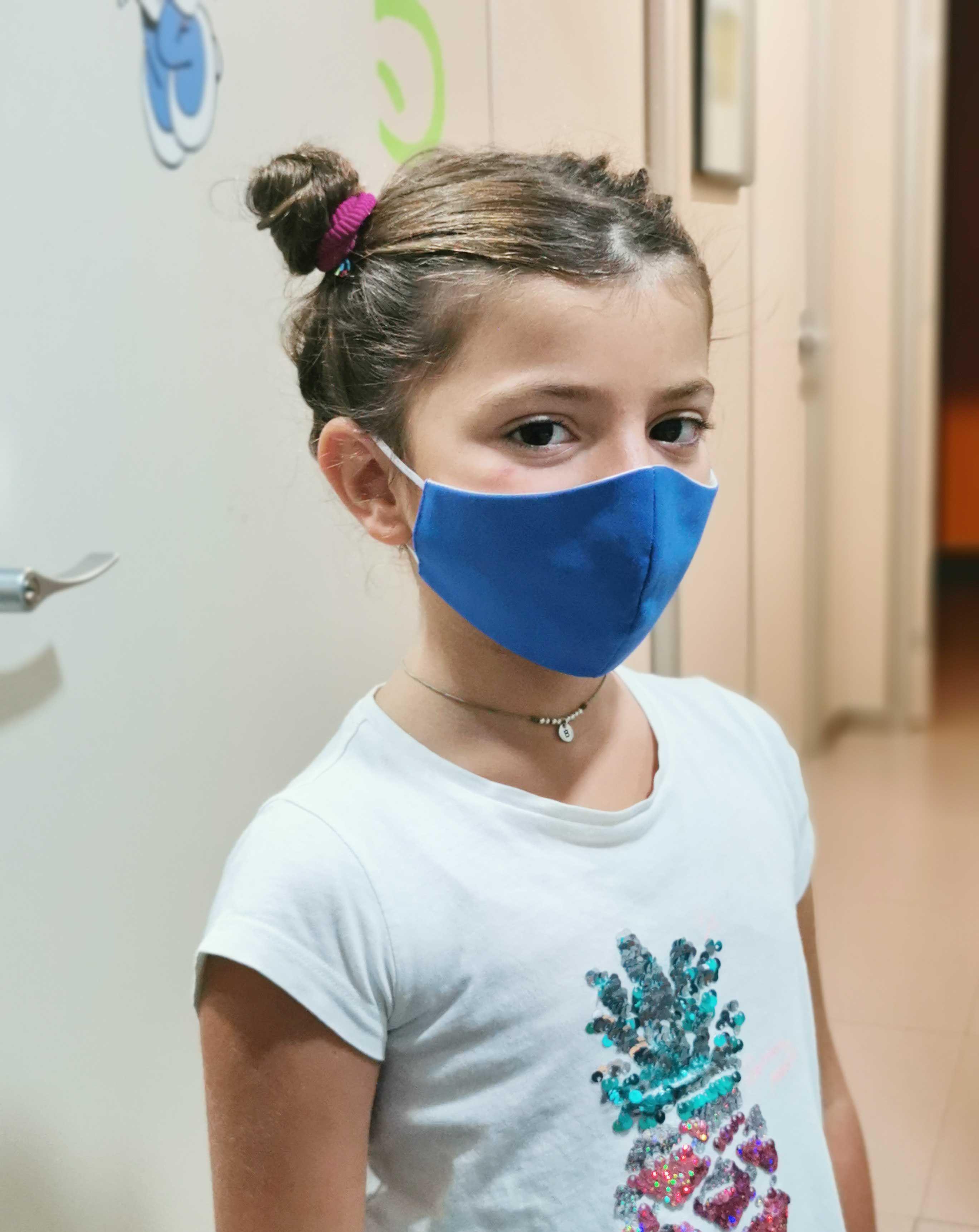 Fotografia Mascarillas sanitarias infantiles Lavables con