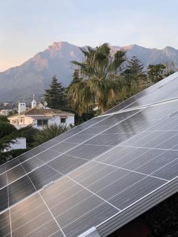 Foto de Instalación en Marbella de Social Energy