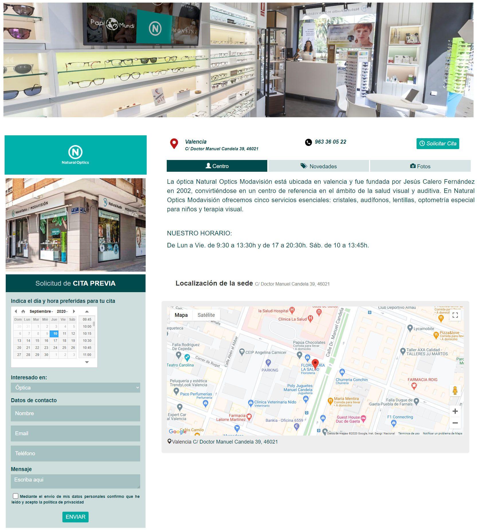 Fotografia Ficha portal