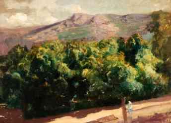 Foto de La Selva. Jardines de la Granja de San Ildefonso - 1907 -