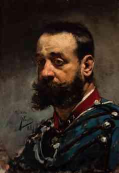 Foto de Retrato de caballero con uniforme - 1884 - Joaquín Sorolla y