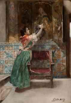 Foto de La santera - 1890 - Joaquín Sorolla y Bastida