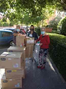 Donación de Fersay a madres con necesidades