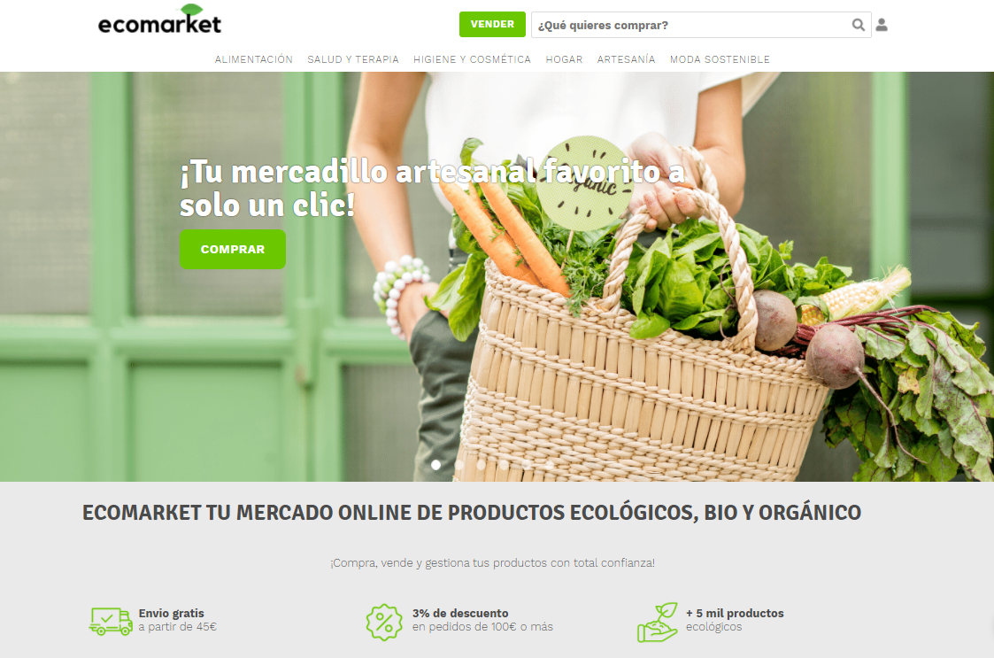 EcoMarket Shop, un marketplace que fomenta los productos locales