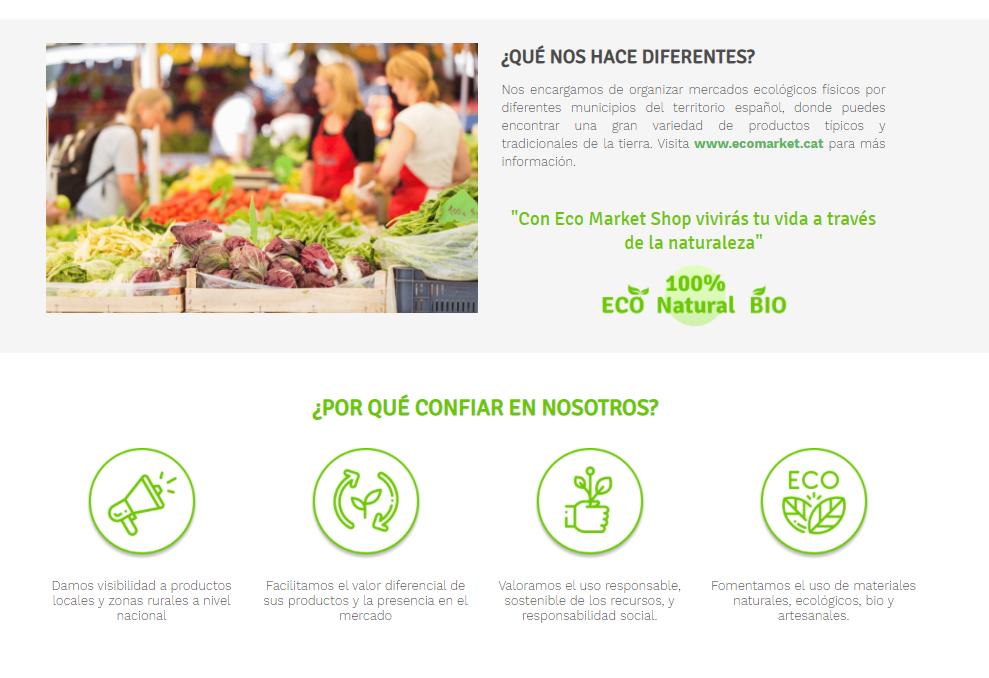 EcoMarket shop
