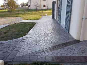 Foto de pavimentos de hormigon impreso