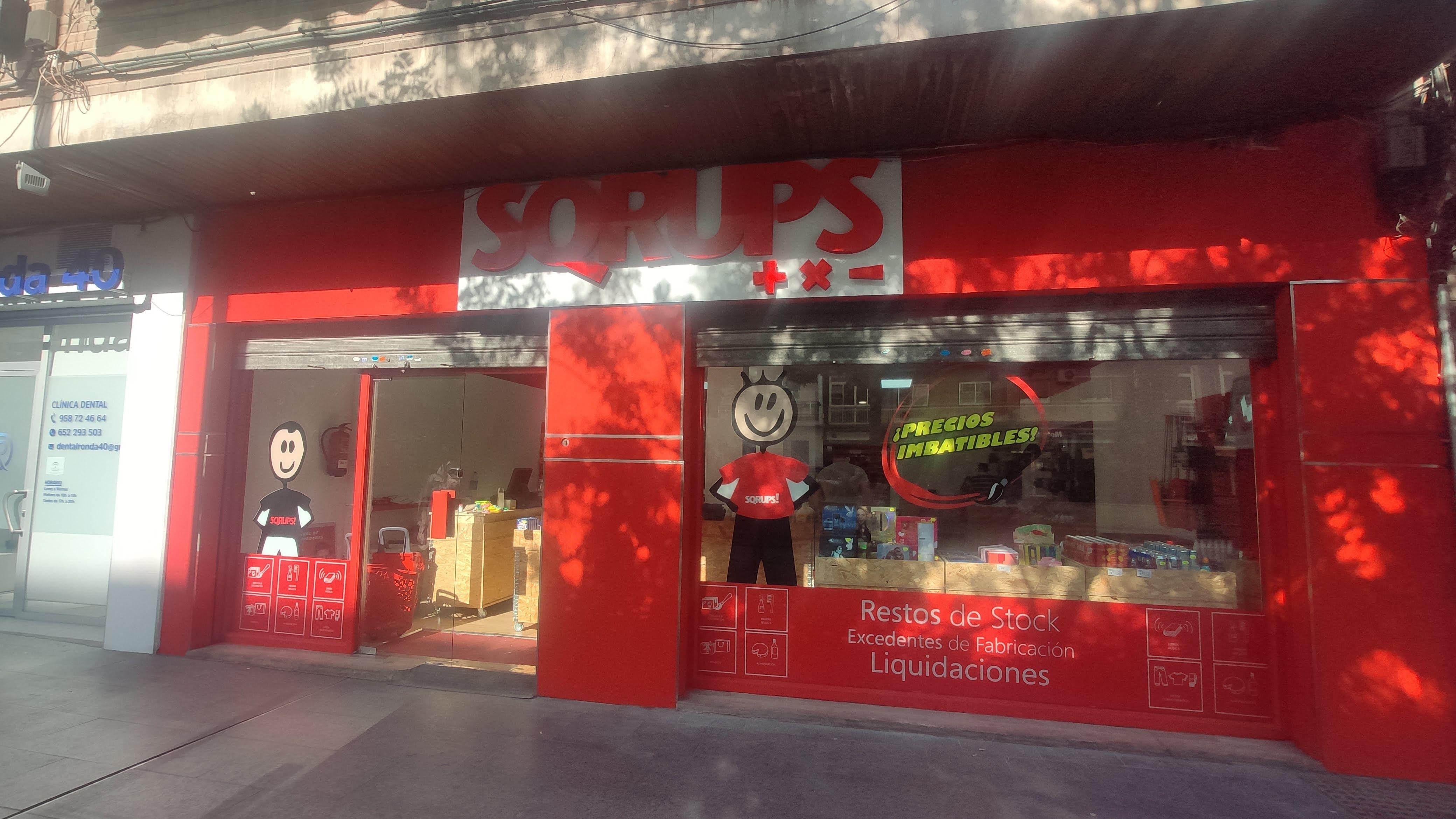 La cadena de outlets urbanos Sqrups! inaugura  en Granada una nueva tienda post COVID-19