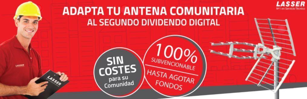 Lasser, antenista en Madrid experto en adaptar el Dividendo Digital antes de octubre