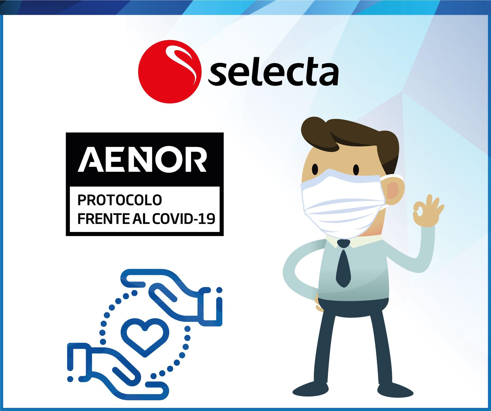 Foto de AENOR certifica a SELECTA frente al Covid-19