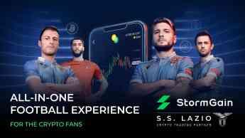 Noticias Fútbol | StormGain patrocina al SS Lazio