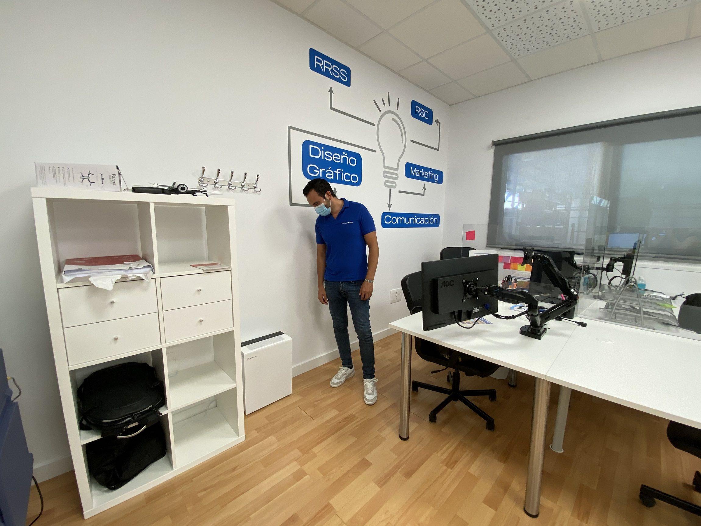 Fotografia Avanza crea espacios de aire limpio con la instalación de