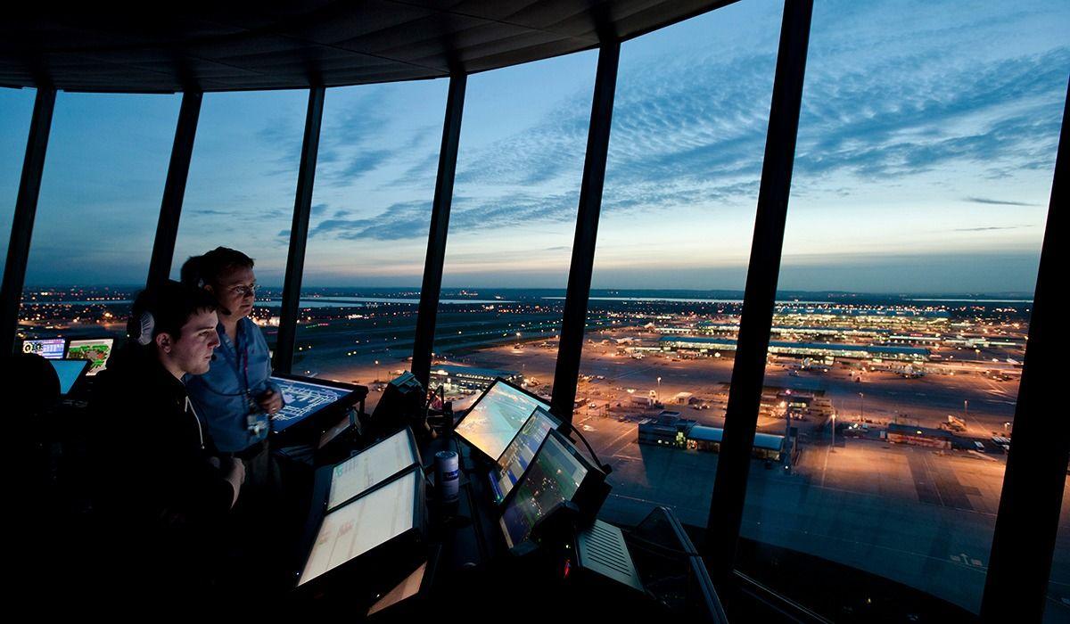 Fotografia Torre de Control