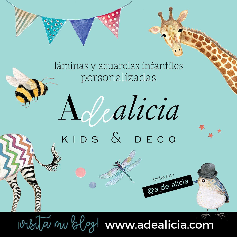 Nace Adealicia, la tienda online de ilustraciones infantiles personalizadas