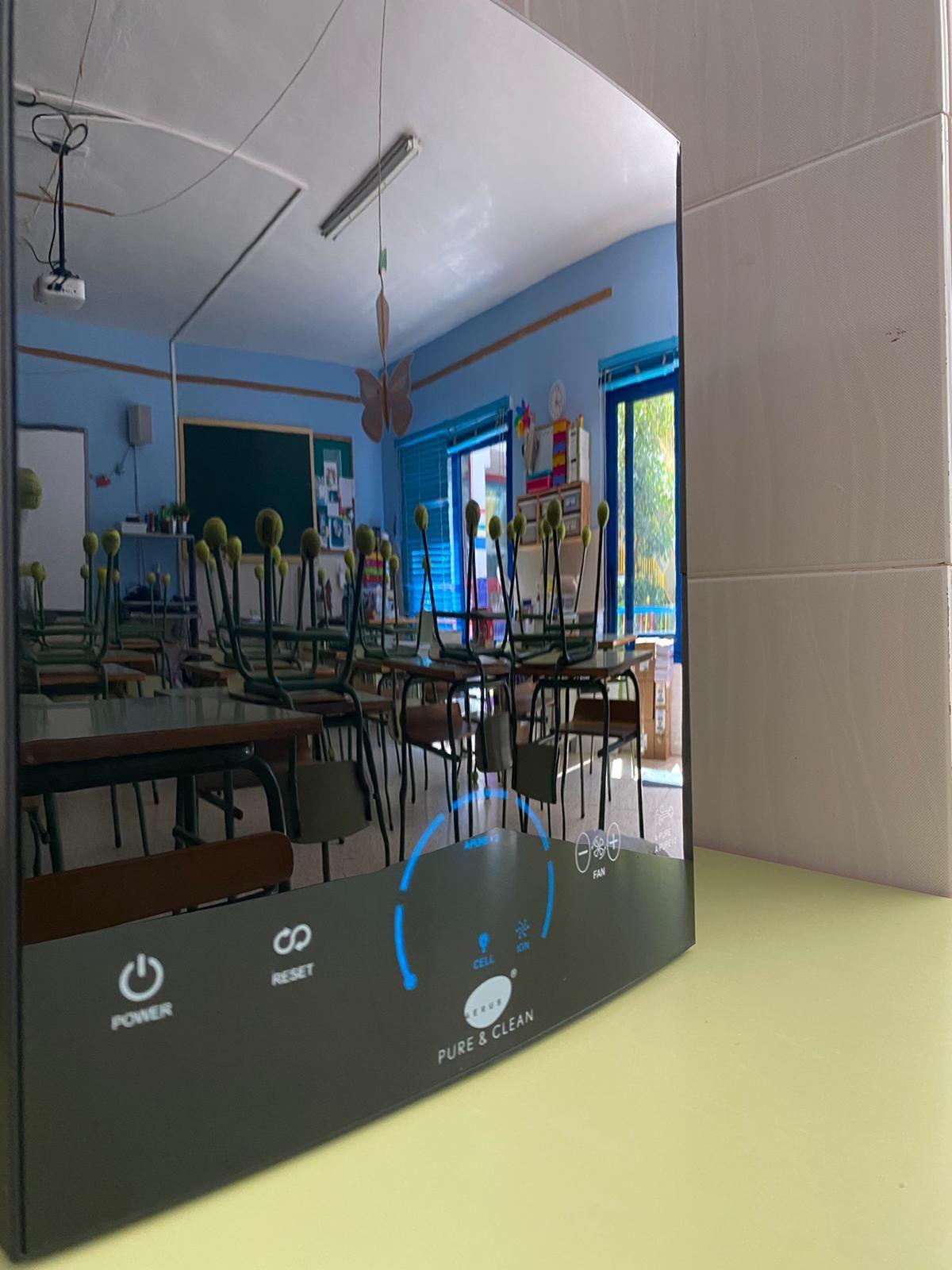 Fotografia Pure and Clean en aula
