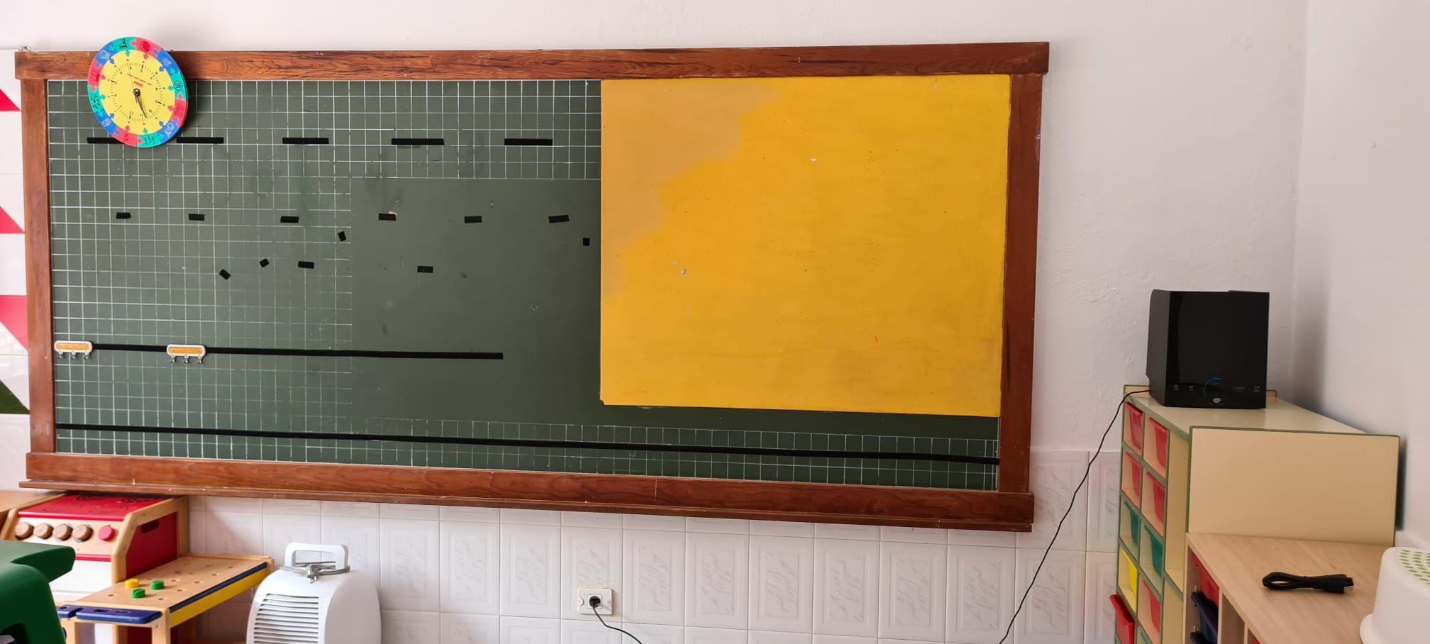 Fotografia Aula con purificador aire ActivePure