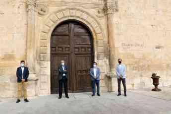 Noticias Formación | Visita institucional de la UAH a Pastrana para
