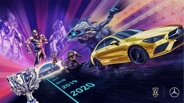 Mercedes-Benz es el colaborador automotriz exclusivo de los eventos mundiales de LOL Esports