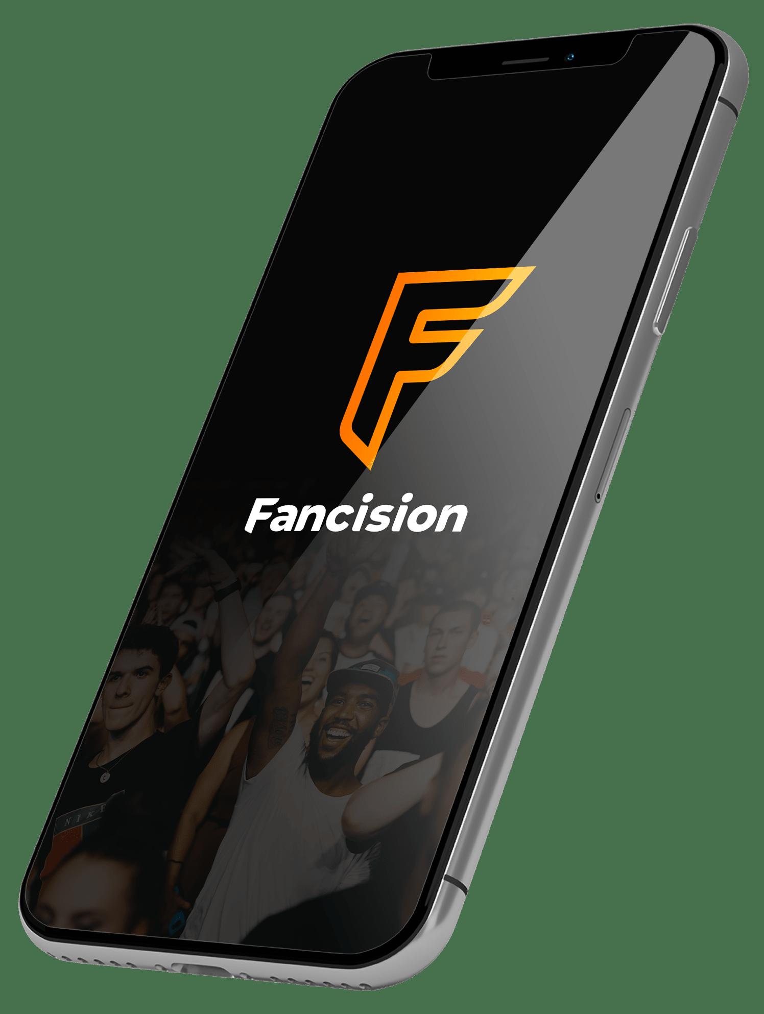 Fotografia Fancision - Pantalla de inicio