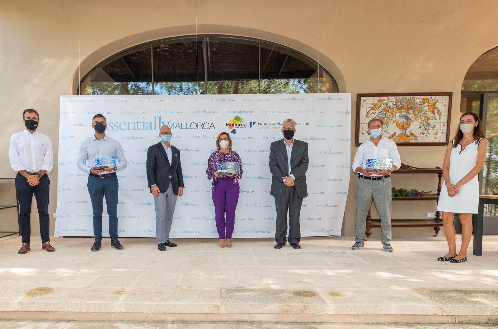 Bodega Can Axartell, Jardines de Alfabia y Legends Cup, premiados como referentes del Mejor Turismo de Lujo