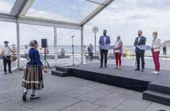 Noticias País Vasco | n momento de la inauguración de la Plaza de
