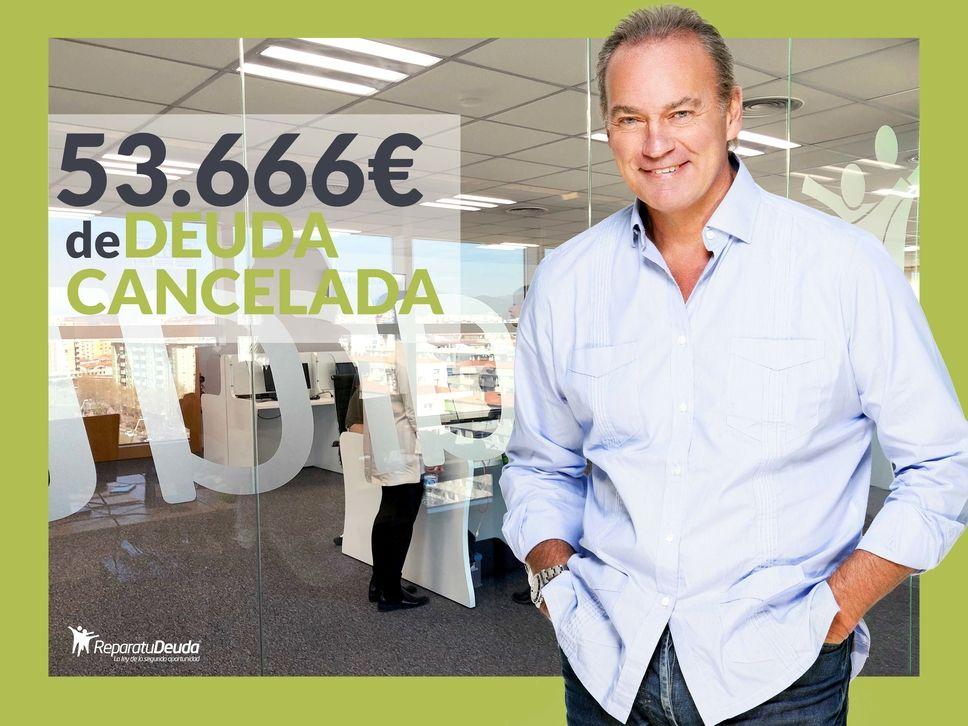 Repara tu Deuda cancela 53.666 ? en Sant Boi de Llobregat (Barcelona) con la Ley de la Segunda oportunidad
