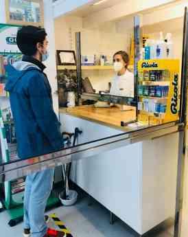 Noticias País Vasco | Foto de archivo farmacia Agra (Irun).