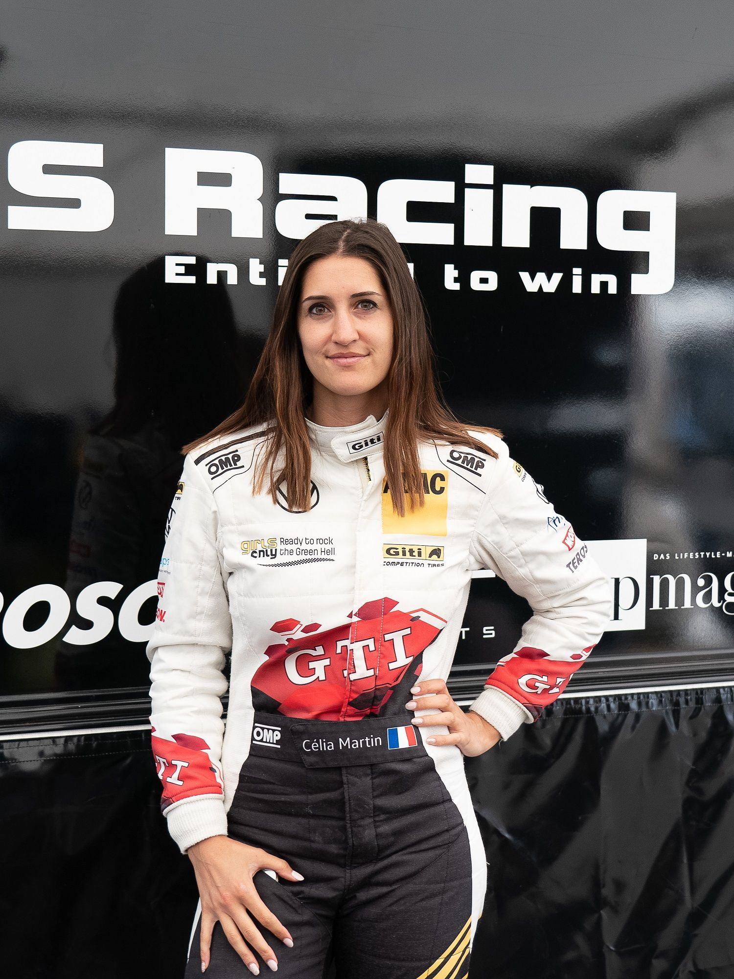 Fotografia Piloto del equipo femenino de Giti Tire Celia Martín,