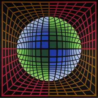 """""""Isom 1986"""", 1978 - Victor Vasarely"""