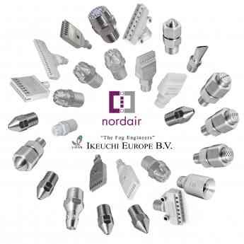 Modelos de Boquillas Ikeuchi distribuidos por Nordair