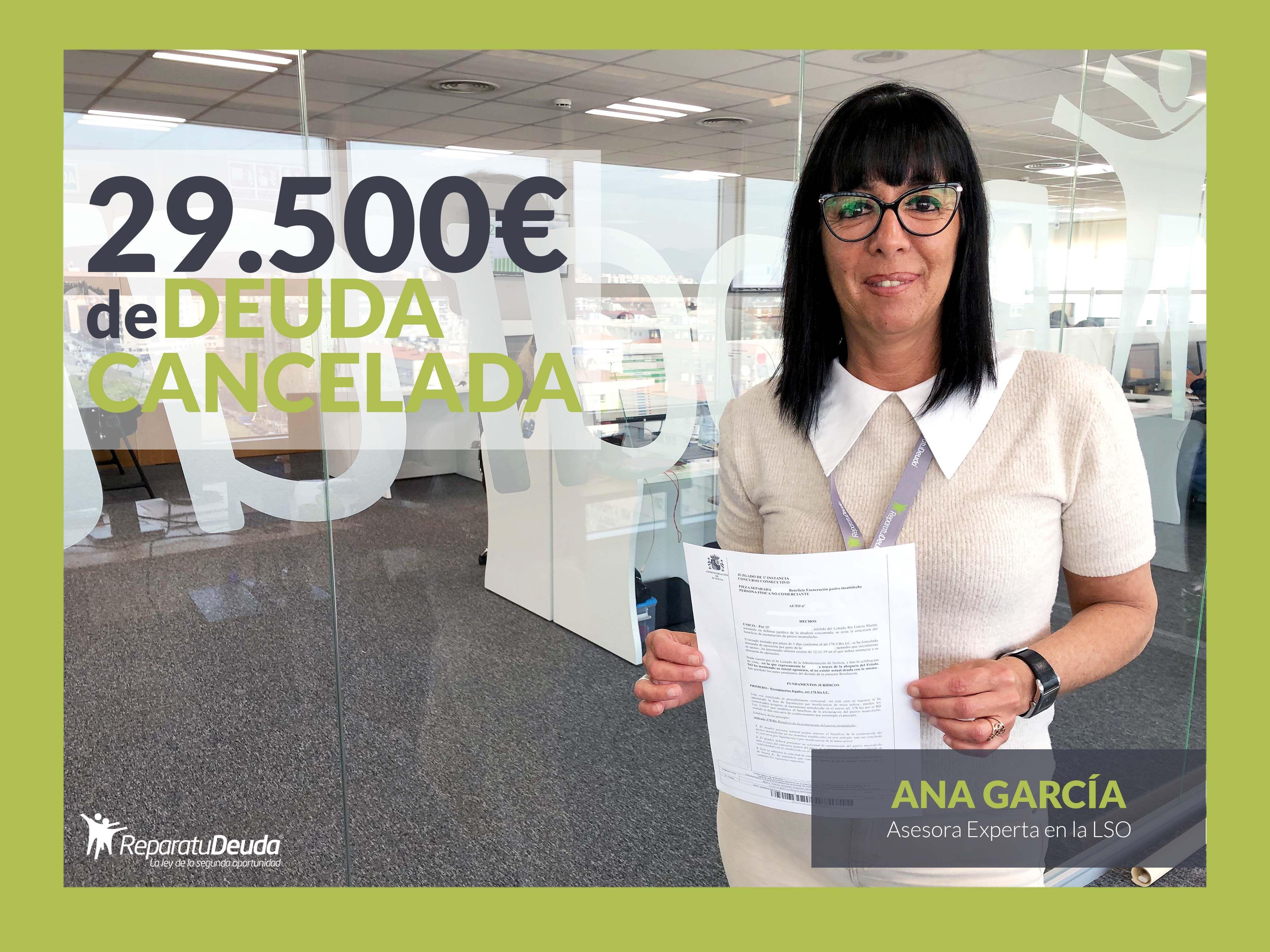 Repara tu Deuda Abogados cancela 29.500 ? de deuda en Guadalajara con la Ley de Segunda Oportunidad