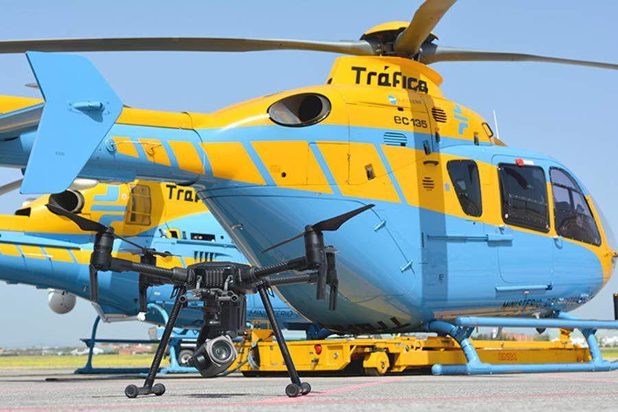 Foto de Drones de la DGT