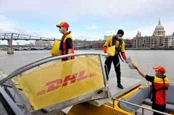 Foto de Transporte de mercancías en Londres