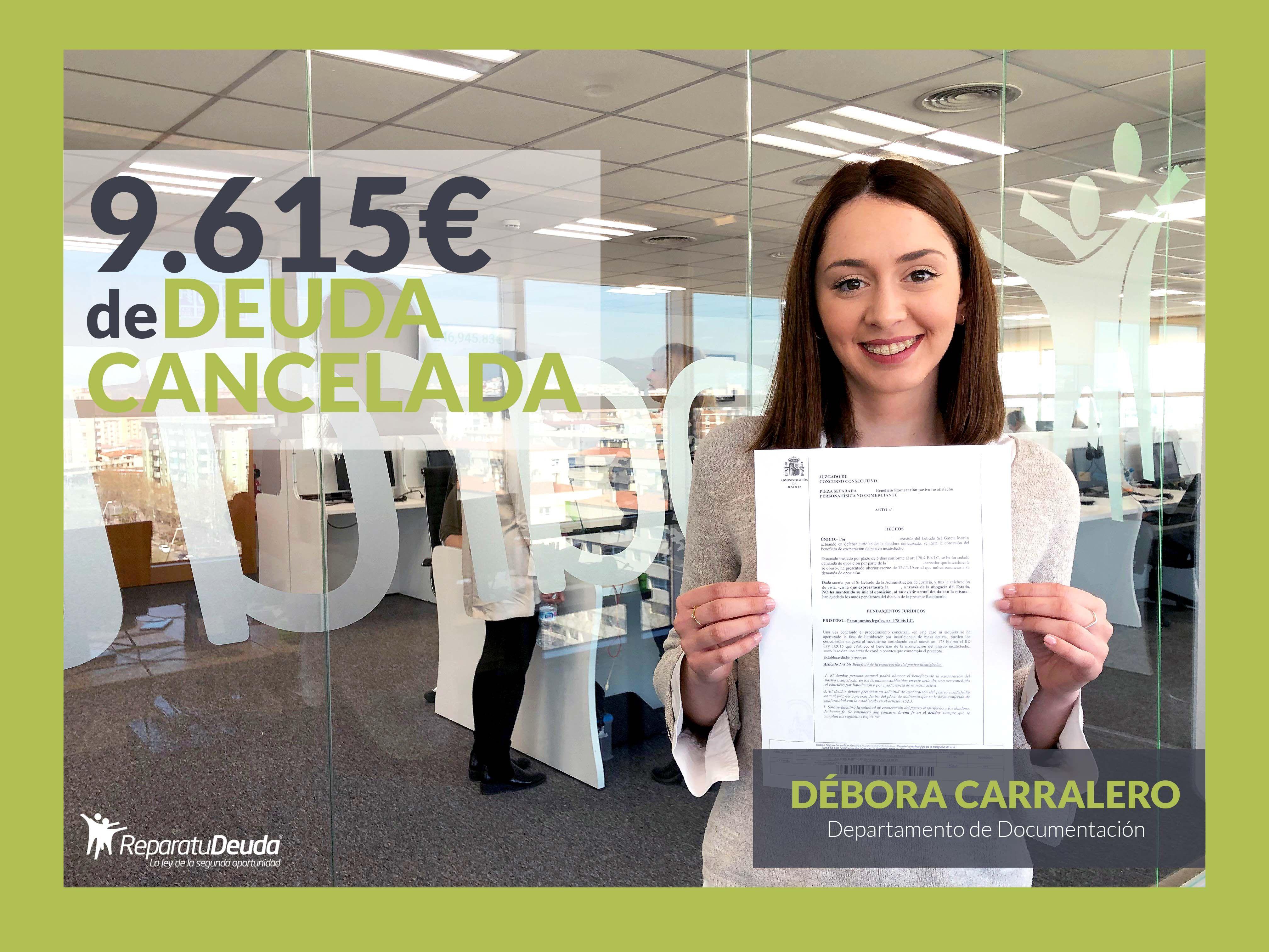Repara tu Deuda abogados cancela 9.615 eur con 5 Bancos en Barcelona con la Ley de la Segunda Oportunidad