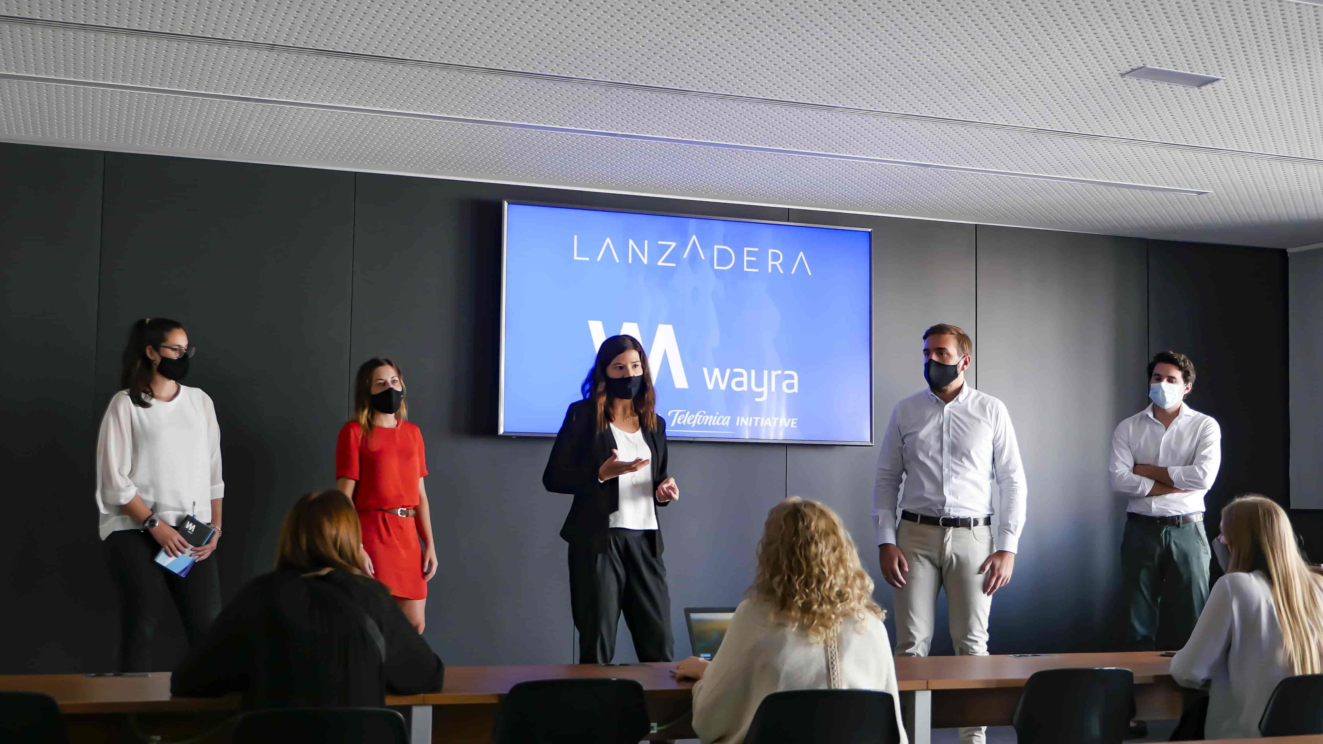 Foto de Acuerdo entre Wayra y Lanzadera
