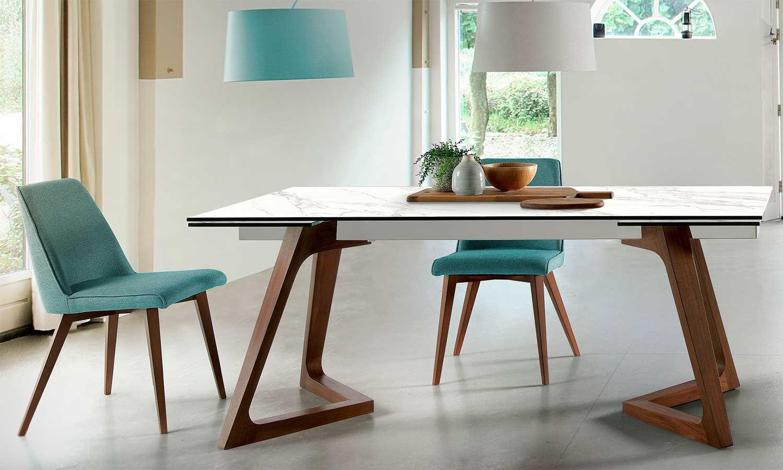 Demarques presenta las tendencias para comprar mesas de comedor