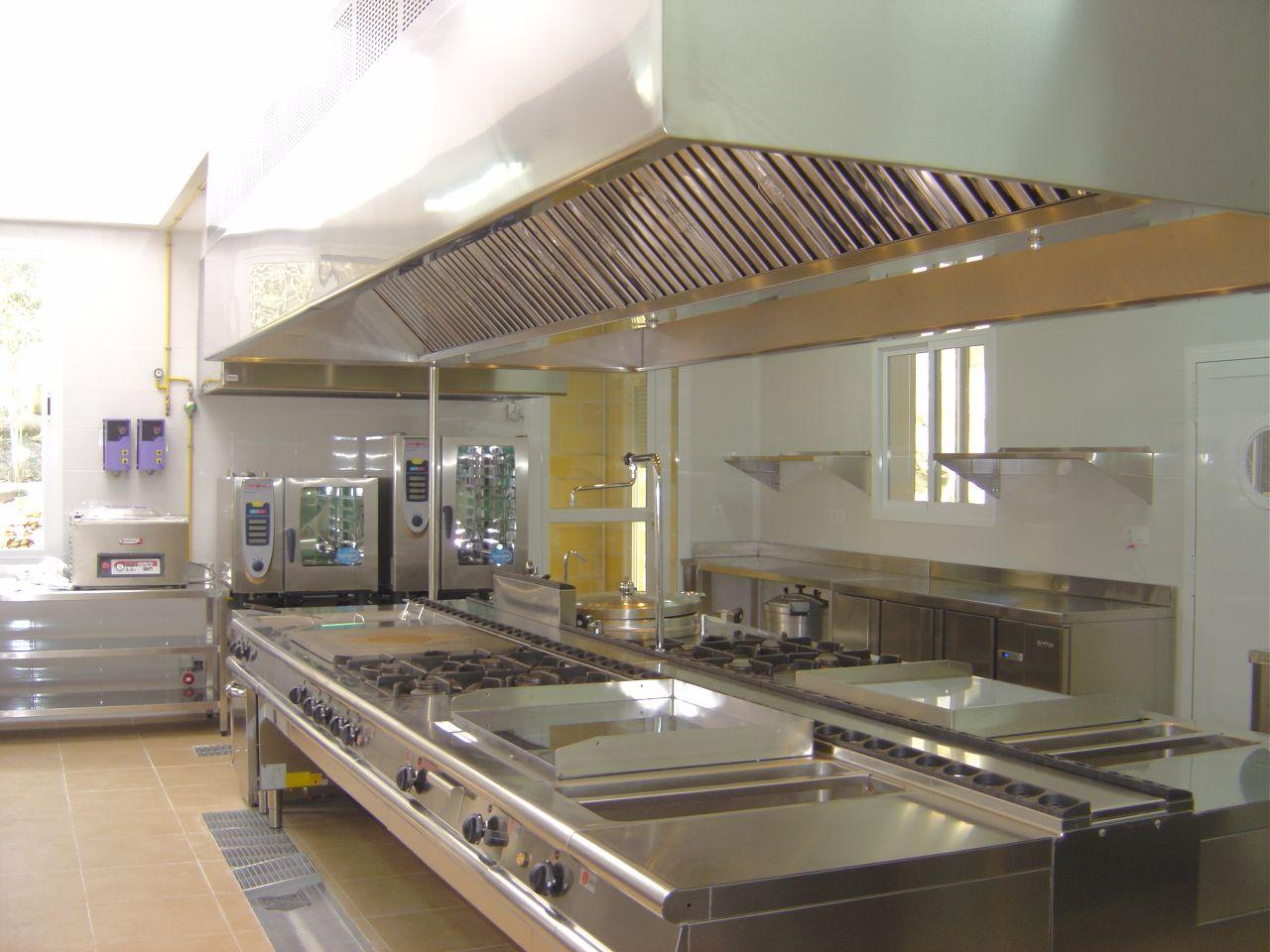 Foto de Medidas de higiene para cocinas de restaurantes y colegios