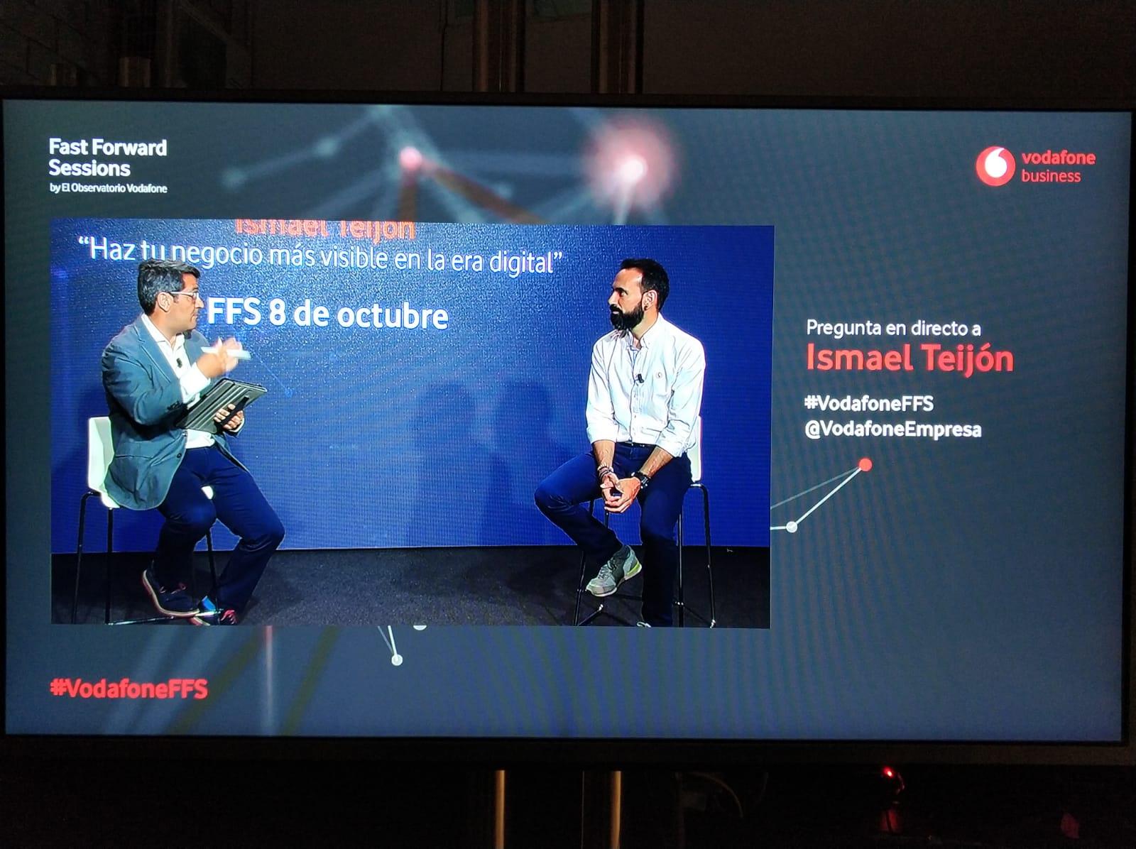 """Vodafone retoma las """"Fast Forward Sessions"""" y anima a las empresas locales a digitalizar sus negocios"""