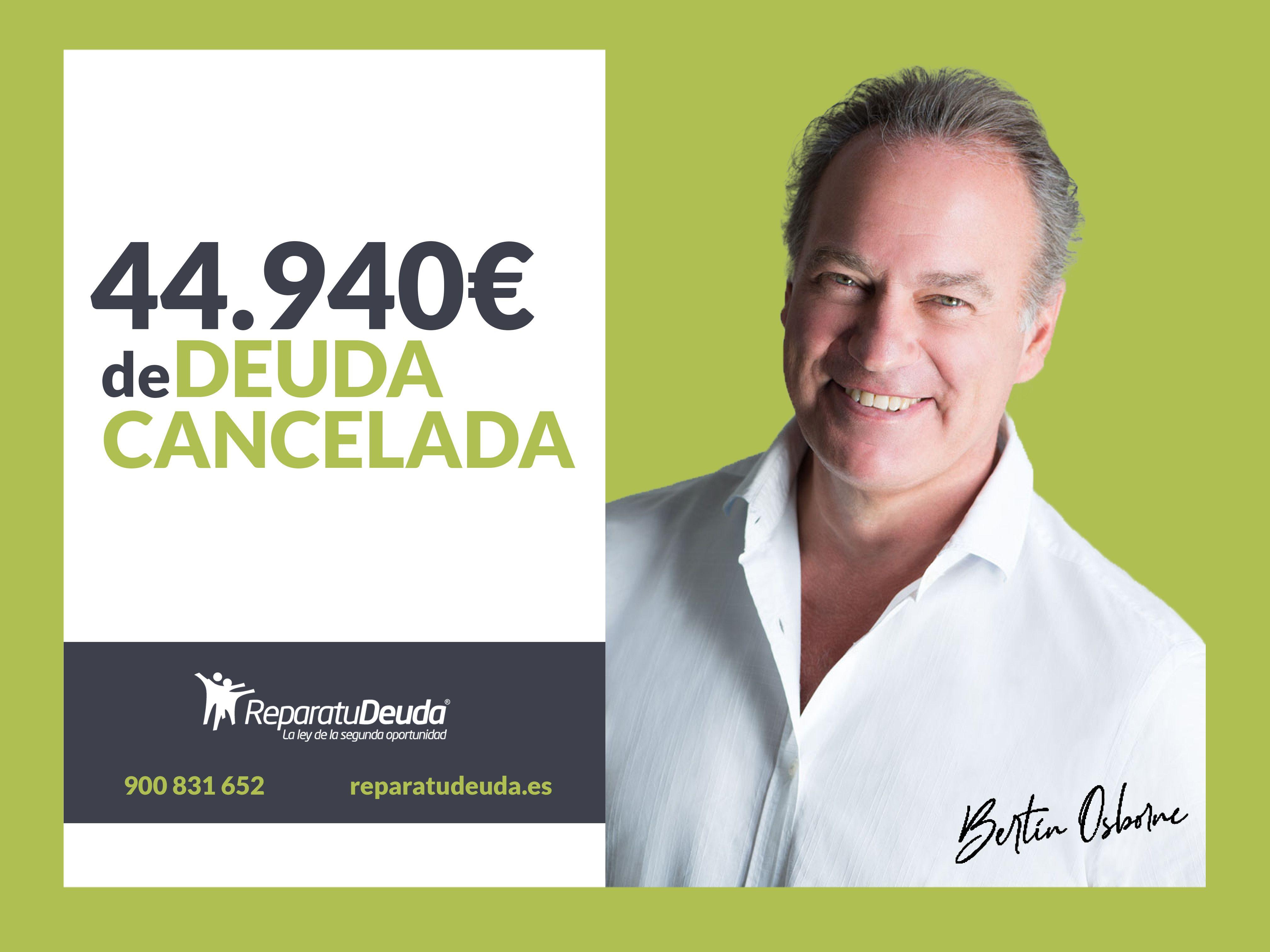 Repara tu Deuda cancela 44.940 ? a una vecina de Tenerife (Canarias) con la Ley de la Segunda Oportunidad