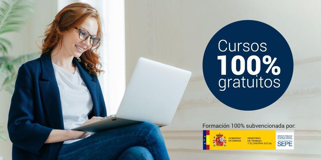 Foto de Cursos online gratuitos para trabajadores en ERTE y autónomos