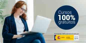 Cursos online gratuitos para trabajadores en ERTE y autónomos
