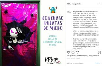 Foto de Puerta de Miedo de Aula 2 de Educación Especial ACEESCA en