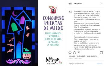 Foto de Puerta de Miedo de Clase de Infantil de Escuela Infantil La