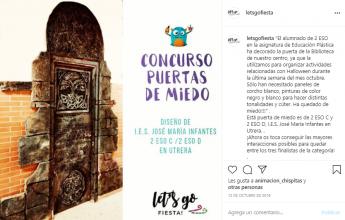 Foto de Puerta de Miedo 2019 de 2º ESO del I.E.S José María