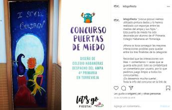 Foto de Puerta de Miedo de 4º de Primaria del Colegio Habaneras en