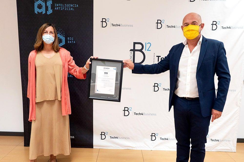 AENOR certifica a Agencia B12 frente al COVID-19
