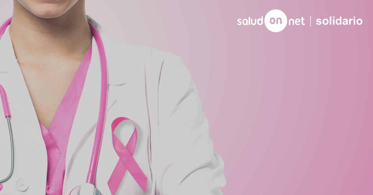 Foto de SaludOnNet contra el cáncer de mama
